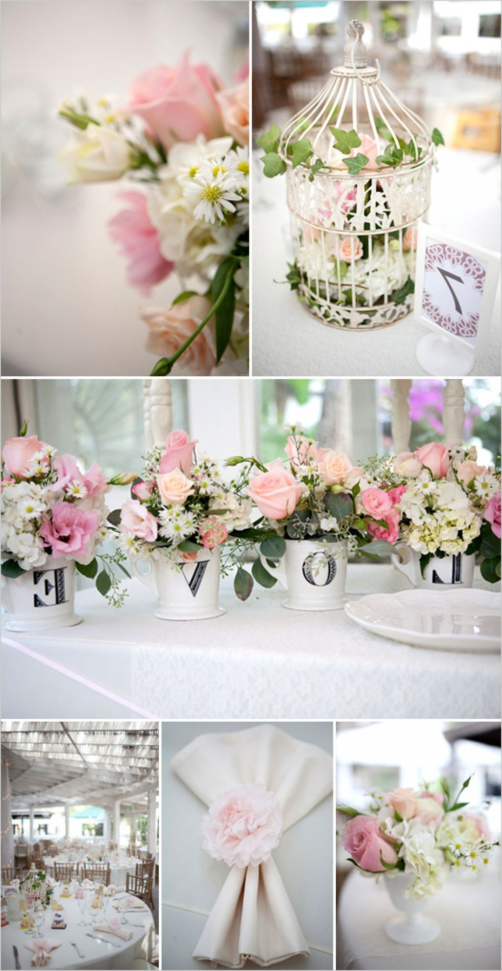 Shabby Chic Wedding Decorating Ideas | wedding colors | Pinterest ...