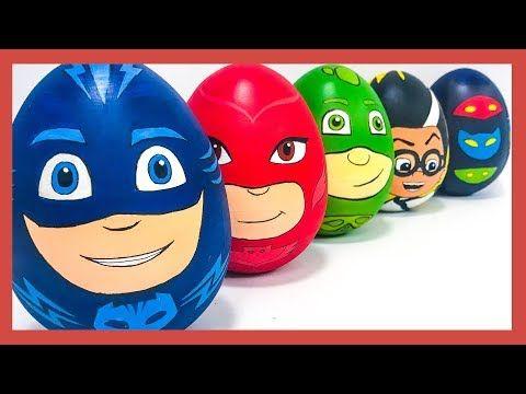 Игрушки сюрпризы Герои в масках 2. Яйца с сюрпризом