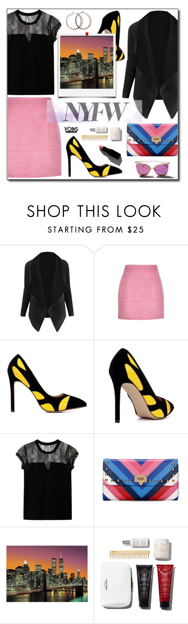 """""""3.5 NYFW yoins"""" by wannanna ❤ liked on Polyvore featuring Brewster Home Fashions and Garance Doré"""