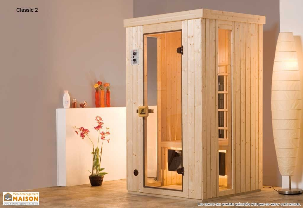 Sauna Infrarouge Weka Classic C2 - 2050 W Divers Pinterest Saunas - faire un sauna maison