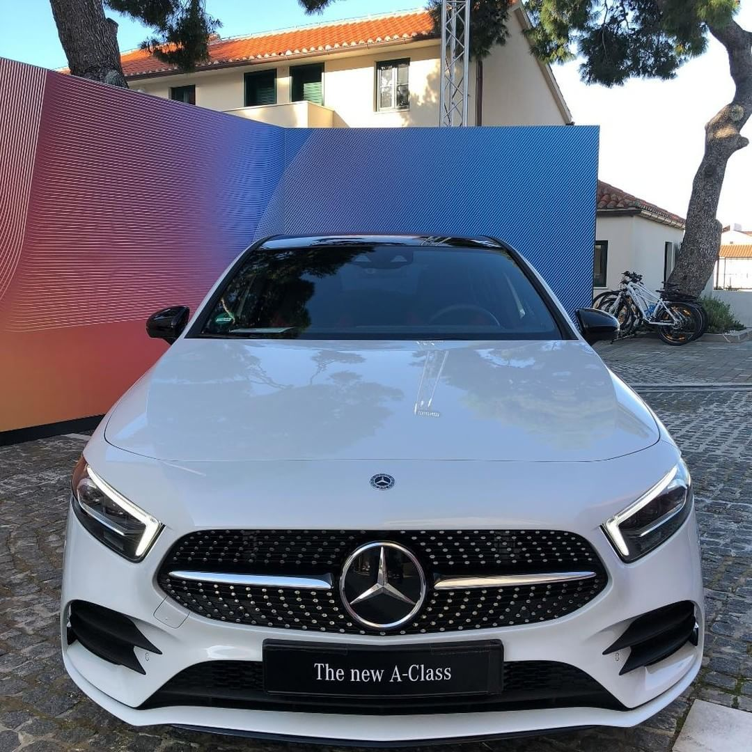 The New A-Class Has The Looks. Clear Lines And Clean