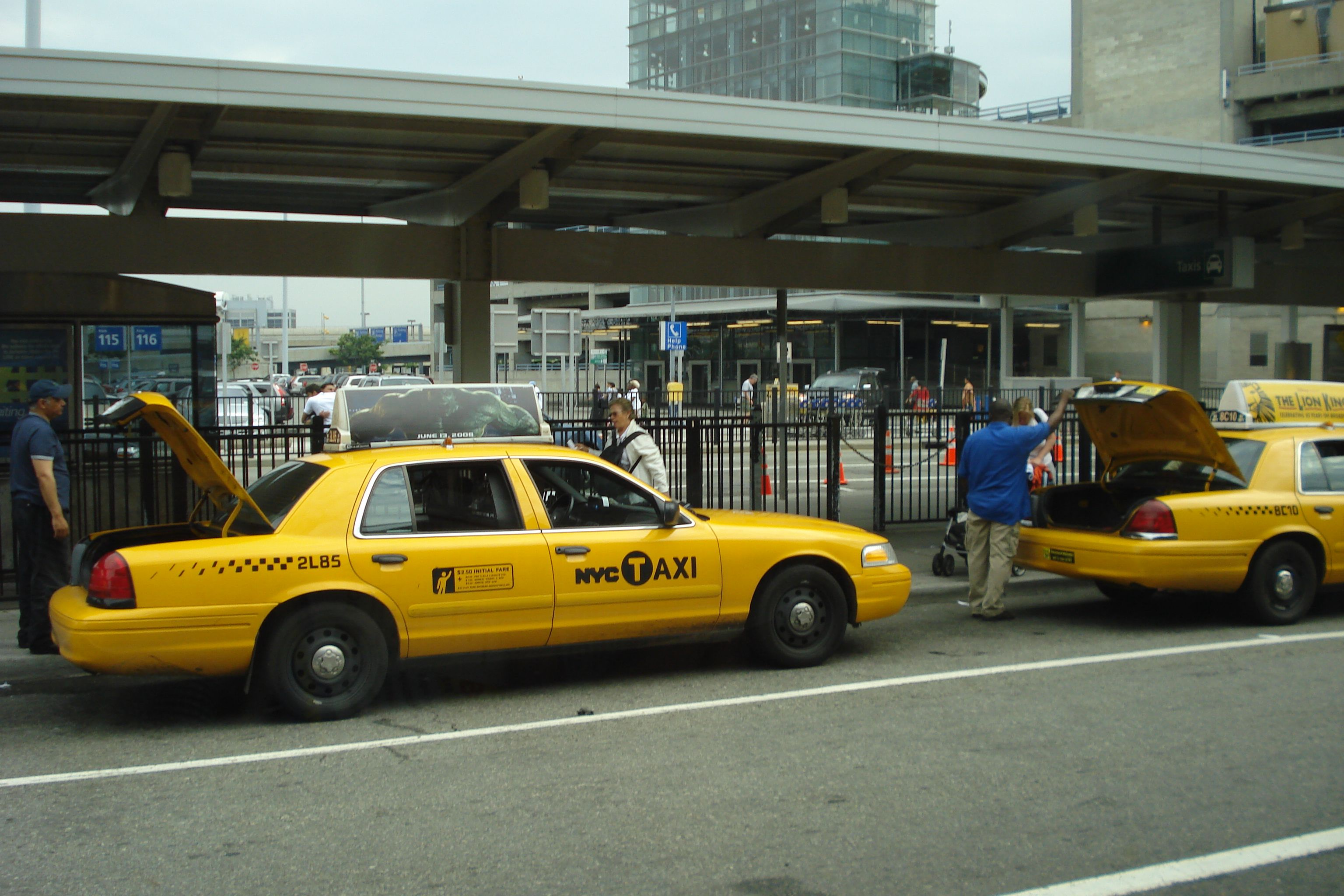 taxis de New York (2008)