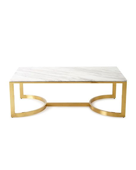 Bernhardt Marquis Marble Coffee Table Marble Coffee Table
