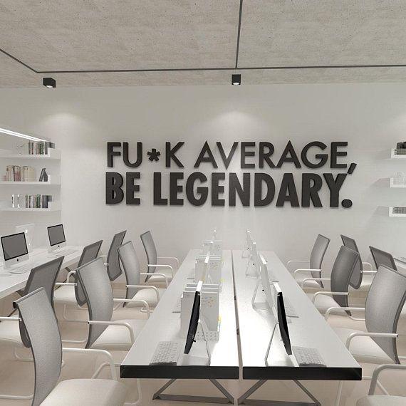 Inspirational Cool Office Wall Art