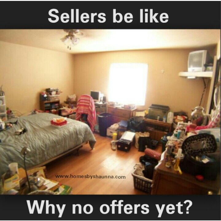 Funny Messy Room Home Listing Hilariousness Clean Bedroom Real