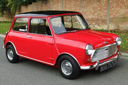 Mini Cooper S (1968)  Every time we drove it on base in California we would have to pull over for the bomb dogs to sniff... EVERY time