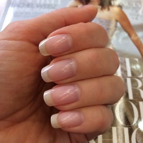 Perfect Formula Pink Gel Coat | nail art | Pinterest | Natural nails ...