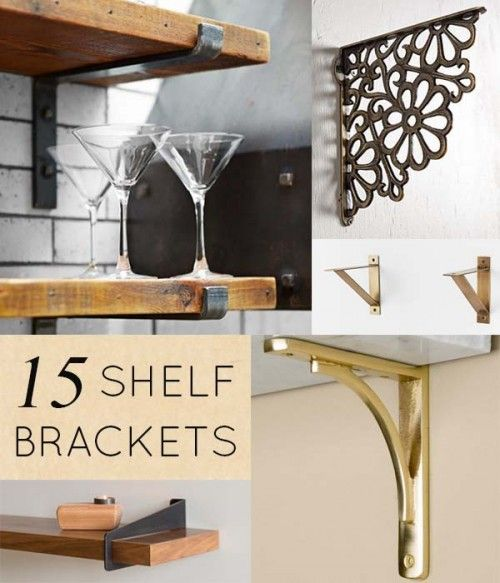 Kitchen Shelf Brackets: Black Book: Shelf Brackets