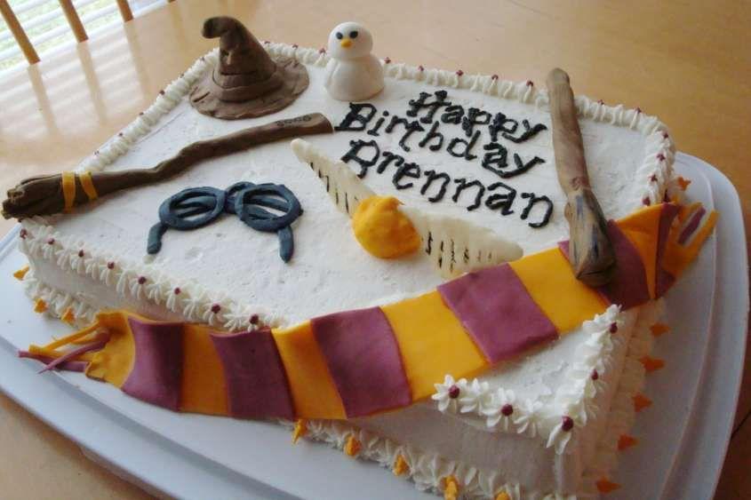 Idee decorazioni Torte di Harry Potter , Torta da decorare con fantasia