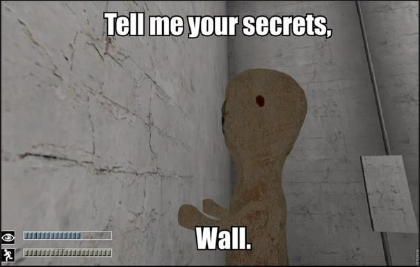 Hm So That S Why Scp 173 Looks At The Wall With Images Scp