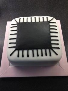 how to make cake paste