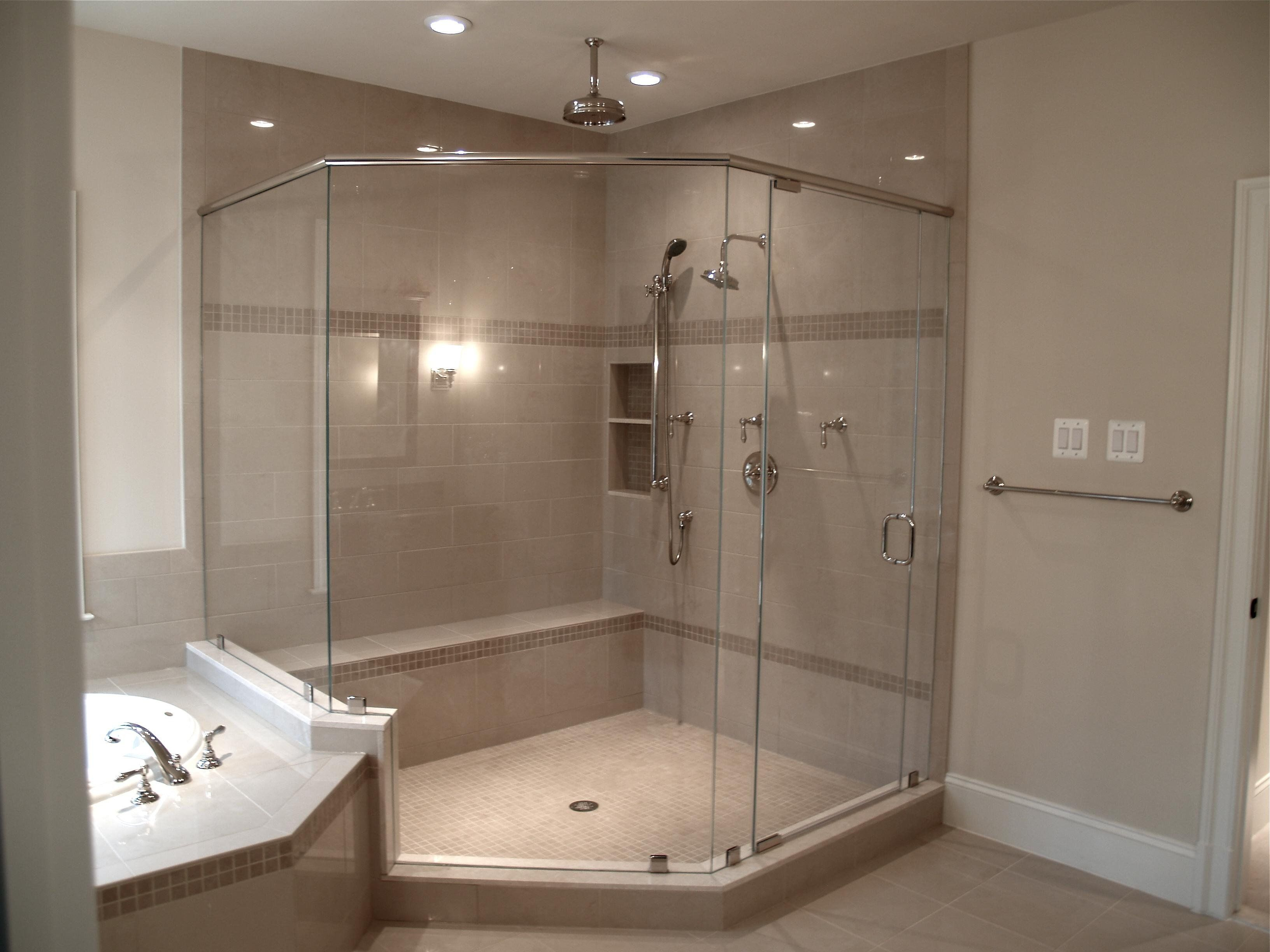 Best Glass Shower Enclosure Ideas In Corner Showers Ready To