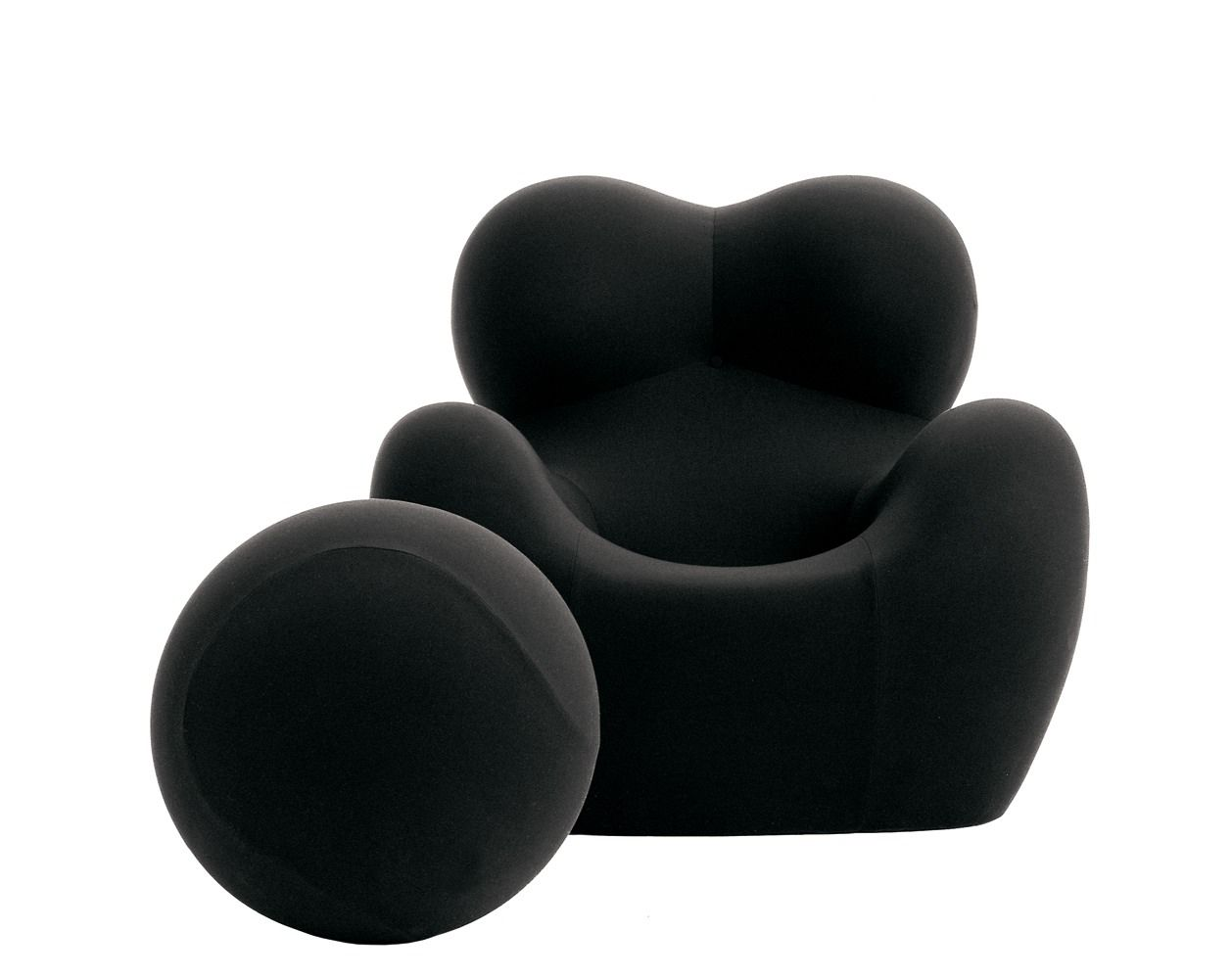 Armchair: SERIE UP 2000 - Collection: B&B Italia - Design: Gaetano ...