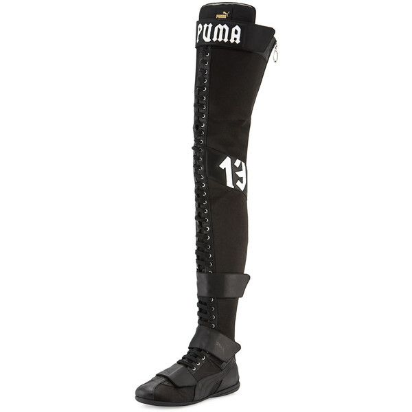 4184656ad37 FENTY PUMA by Rihanna Eskiva Over-the-Knee Boxing Boot