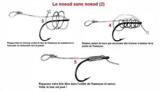 Sujet les diff rents type de noeud pour la peche a la for Amorce maison pour carpe