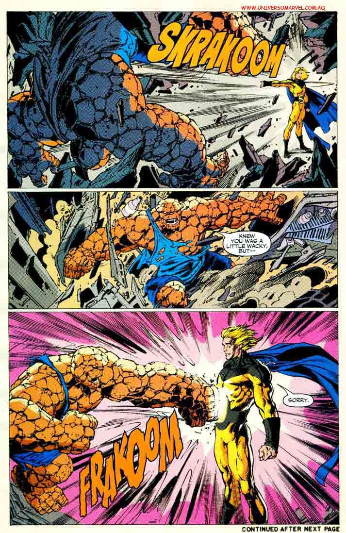 The Sentry Vs The Thing Give Respect To The Sentry Pinterest