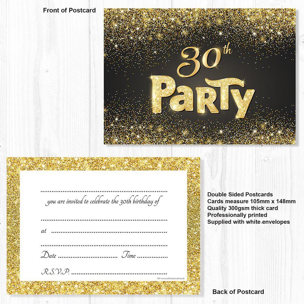einladungskarten zum 30 geburtstag | einladung geburtstag