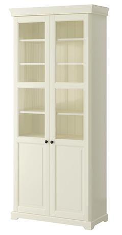 Liatorp Bibliotheque Vitree Blanc 96x214 Cm Ikea Buffet Vaisselier Vaisselier Ikea