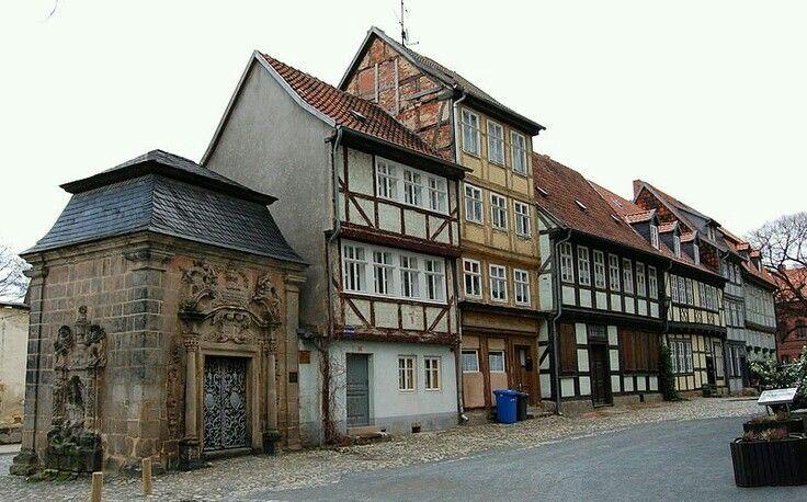 Quedlinburg Harz Germany Quedlinburg, Baustil, Fachwerk