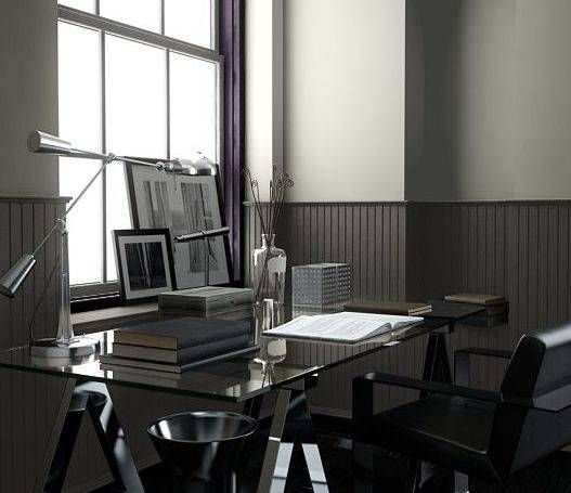 Office I Love The Ralph Lauren Paint Colors Lamp Room Gray On