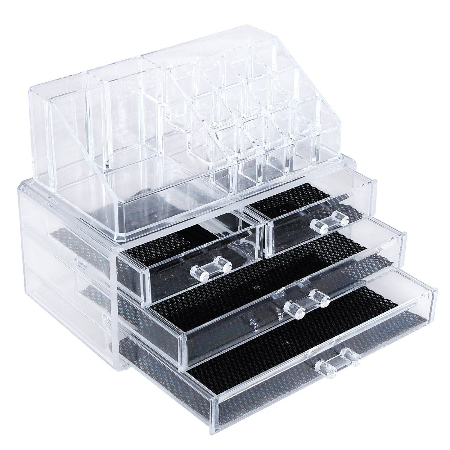 Songmics Acrylic Cosmeticmakeup Organizer Jewelry Display Boxes