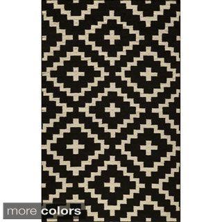 Momeni Laguna Hand Woven Wool Rug 5 X 8