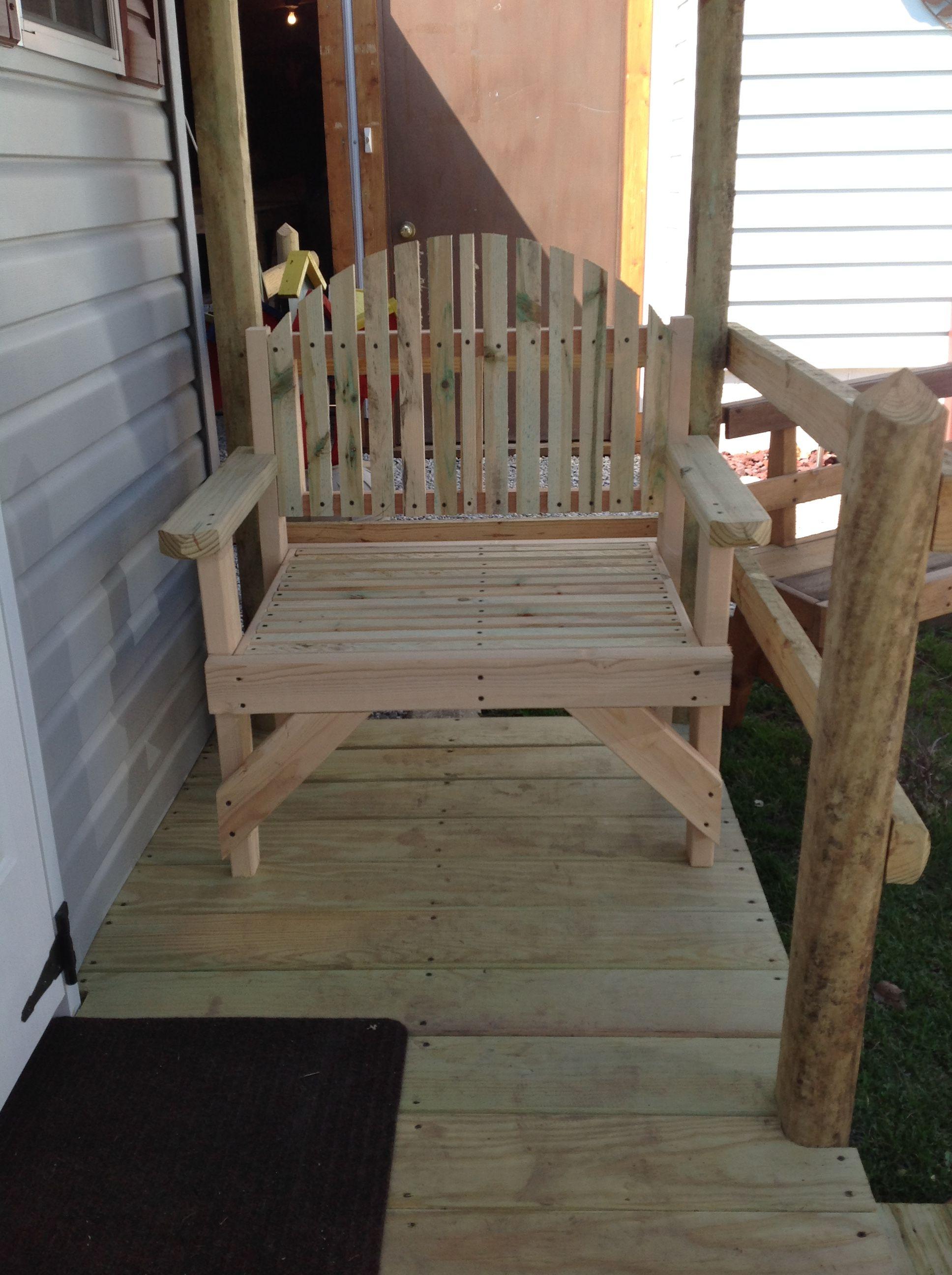 One Seater Bench. Wooden Wonders Designs By Steve & Carol ...
