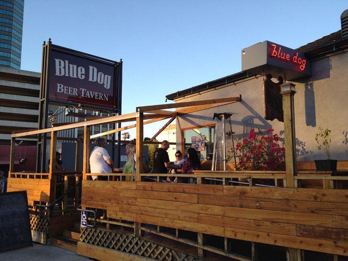 Blue Dog Beer Tavern Sherman Oaks With Images Dog Beer Blue