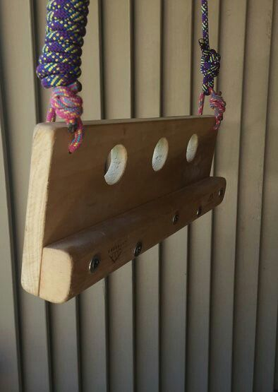 Diy Portable Finger Board Climbing In 2019 Rock