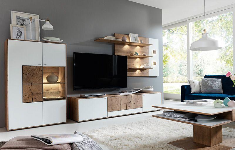 hartmann massivholzm bel modellreihe caya galerie wohnkombinationen modernes wohnen. Black Bedroom Furniture Sets. Home Design Ideas