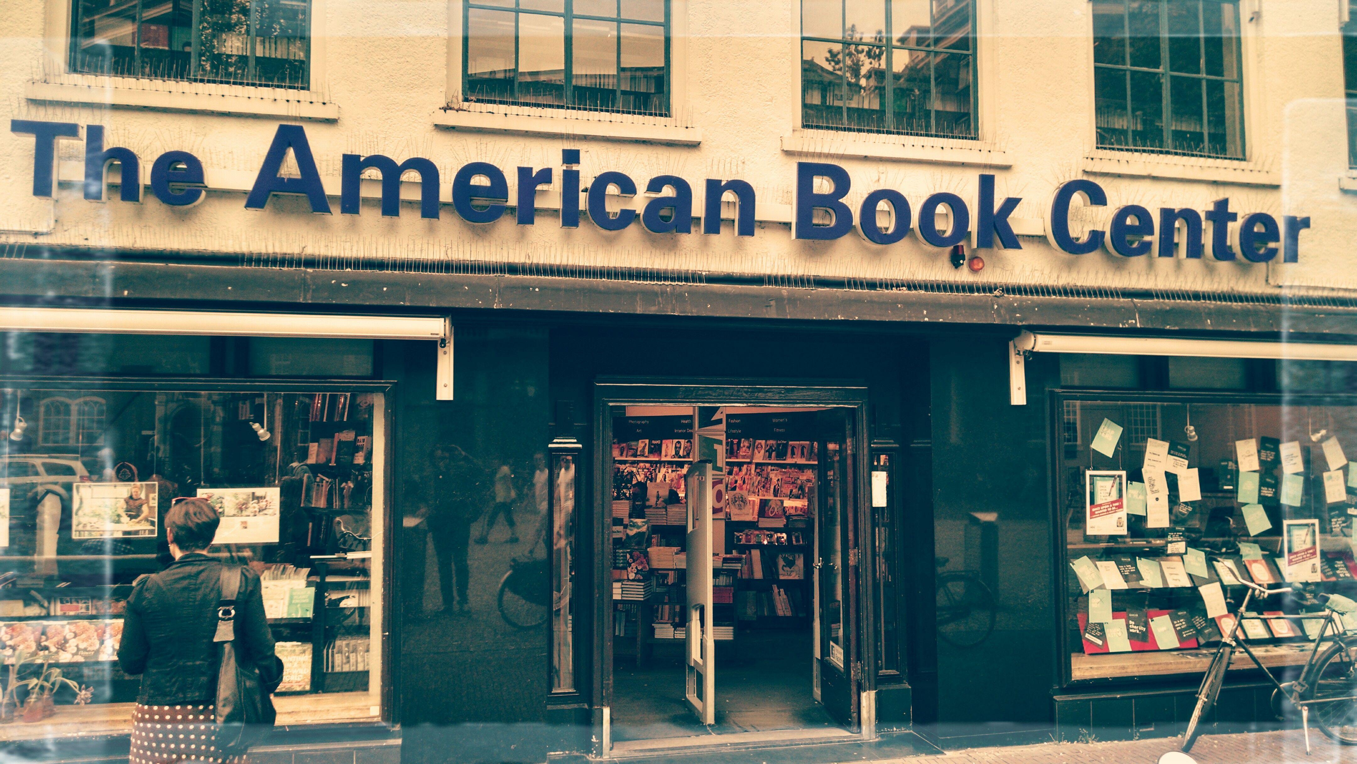 Noch eine Buchhandlung für englischsprachige Titel – The American Book Center.