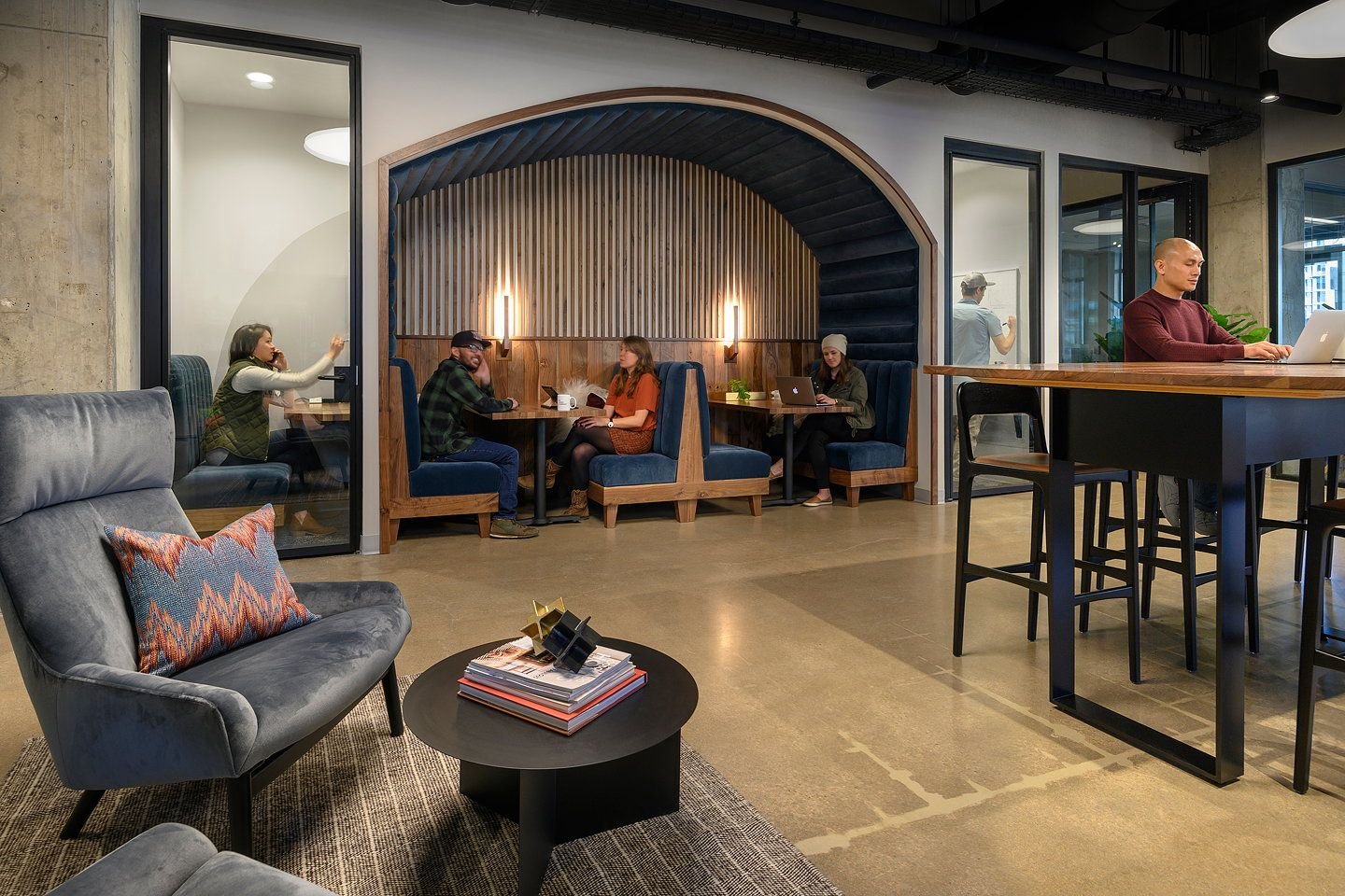 Woods Bagot Completes CommonGrounds Café and CoWorking