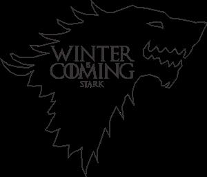 Winter Is Coming Stark Logo Vector Cdr Free Download Winter Is Coming Stark Winter Is Coming Vector Logo