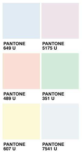 P I N T E R E S T Mica Schytte Pastel Colour Palette