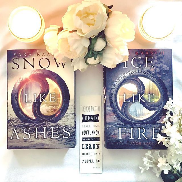 Have you all read the Snow Like Ashes series by Sara Raasch? It is absolutely fantastic!   ❄️ The story follows sixteen-year-old Meira, an orphaned, rebel, refugee on the run after her kingdom, Winter, was conquered when she was a child. Her and the small band of Winterian refugees are soon thrust into an adventure of knife fights, evil kings, magic, and crazy conspiracies! ❄️  I absolutely loved both of these books  and I am so excited for the third and final books, Frost Like Night, Sep 16
