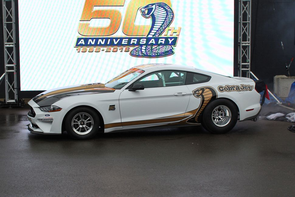 The Ford Mustang Cobra Jet Returns For Its 50th Anniversary