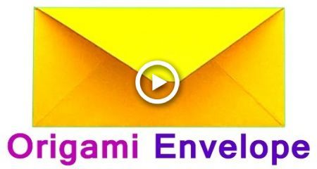 Photo of How to make the Envelope of  Paper (A4). Traditional Origami for Beginners – How…