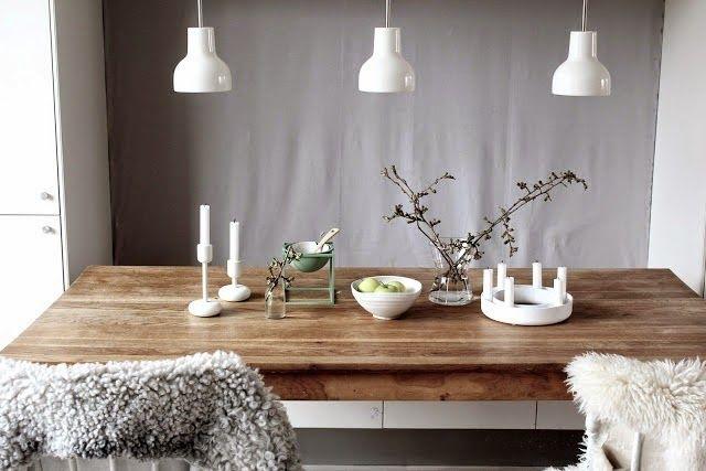 Amalies Hus Muuto Gloria Lysestake Scandinavian Dining Room