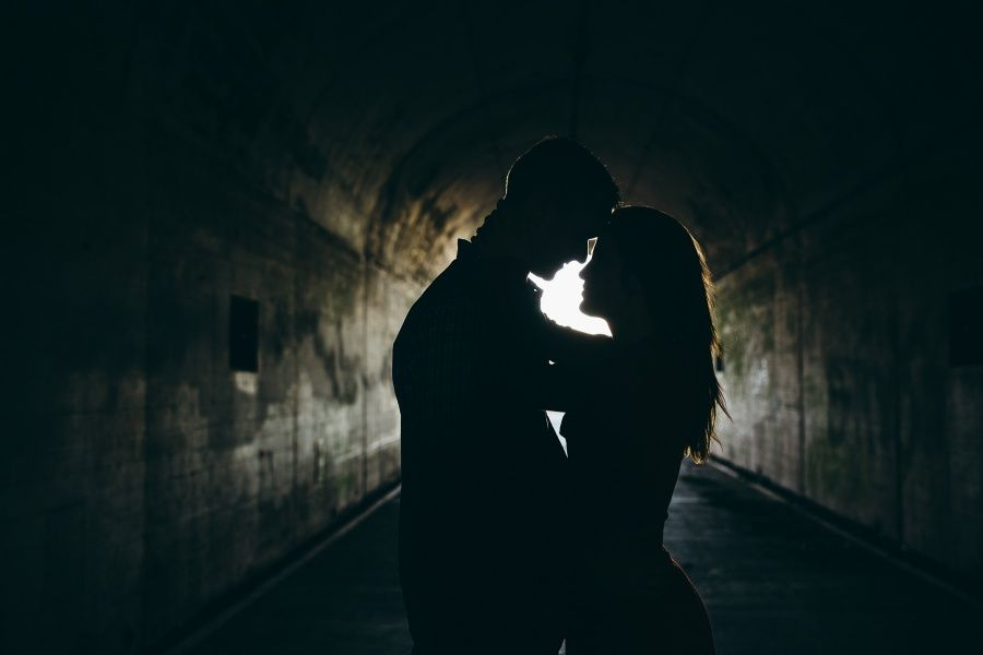 tunnel-silhouette-marin-headlands-engagement-session