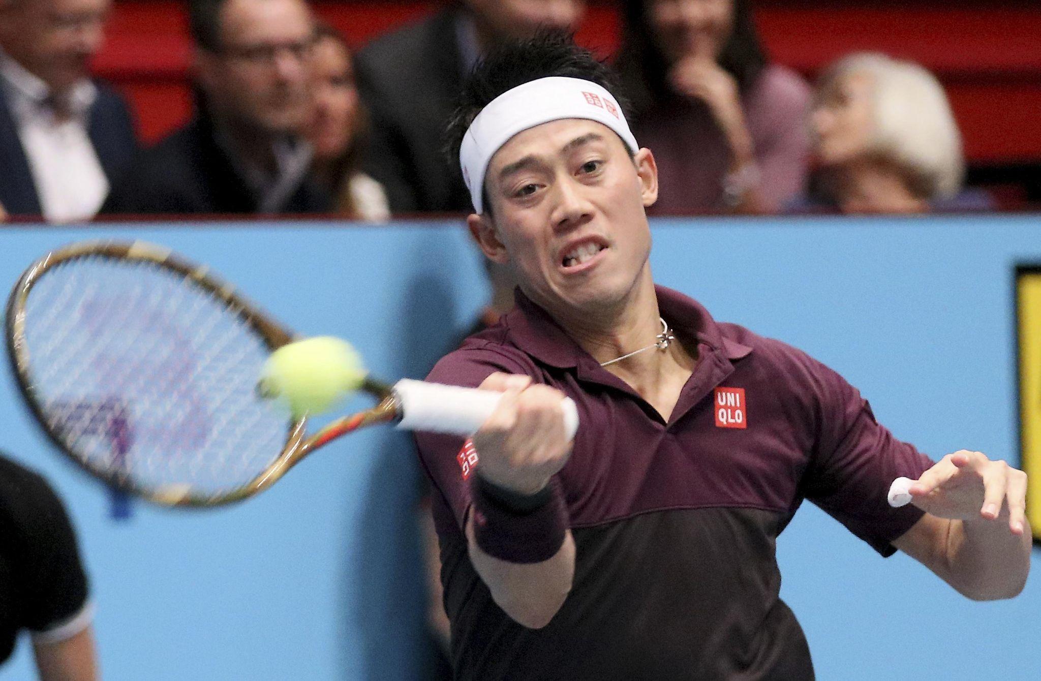 Kevin Anderson Vs Kei Nishikori In Vienna Final Us Tennis News