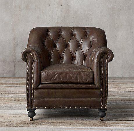 Sandringham Leather Club Chair Club Chairs Leather Club