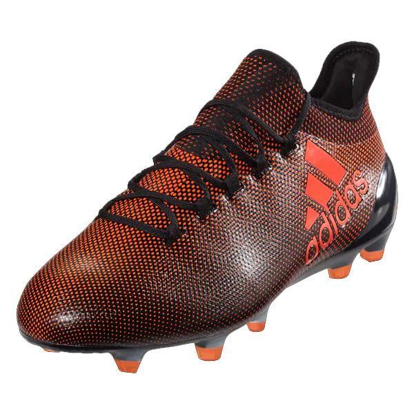 reputable site 730ed f5988 adidas X 17.1 FG Mens Soccer Cleats (Solar Red Black)