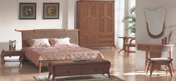 Bedroom FurnitureCheap Wicker Bedroom Furniture Rattan Bedroom