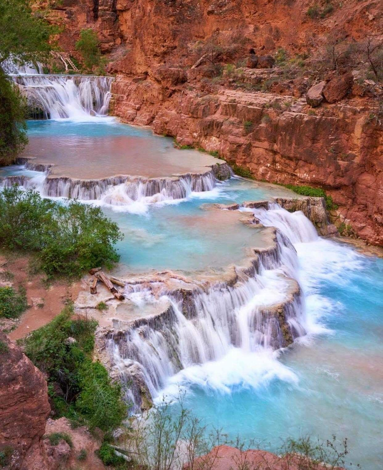 beaver falls supai arizona by @king_roberto | outdoor wonderland