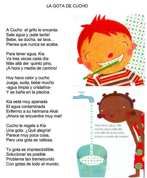 Poesia El Agua Educacion Infantil Buscar Con Google Agua Poesia Sobre El Agua Experimentos Con Agua