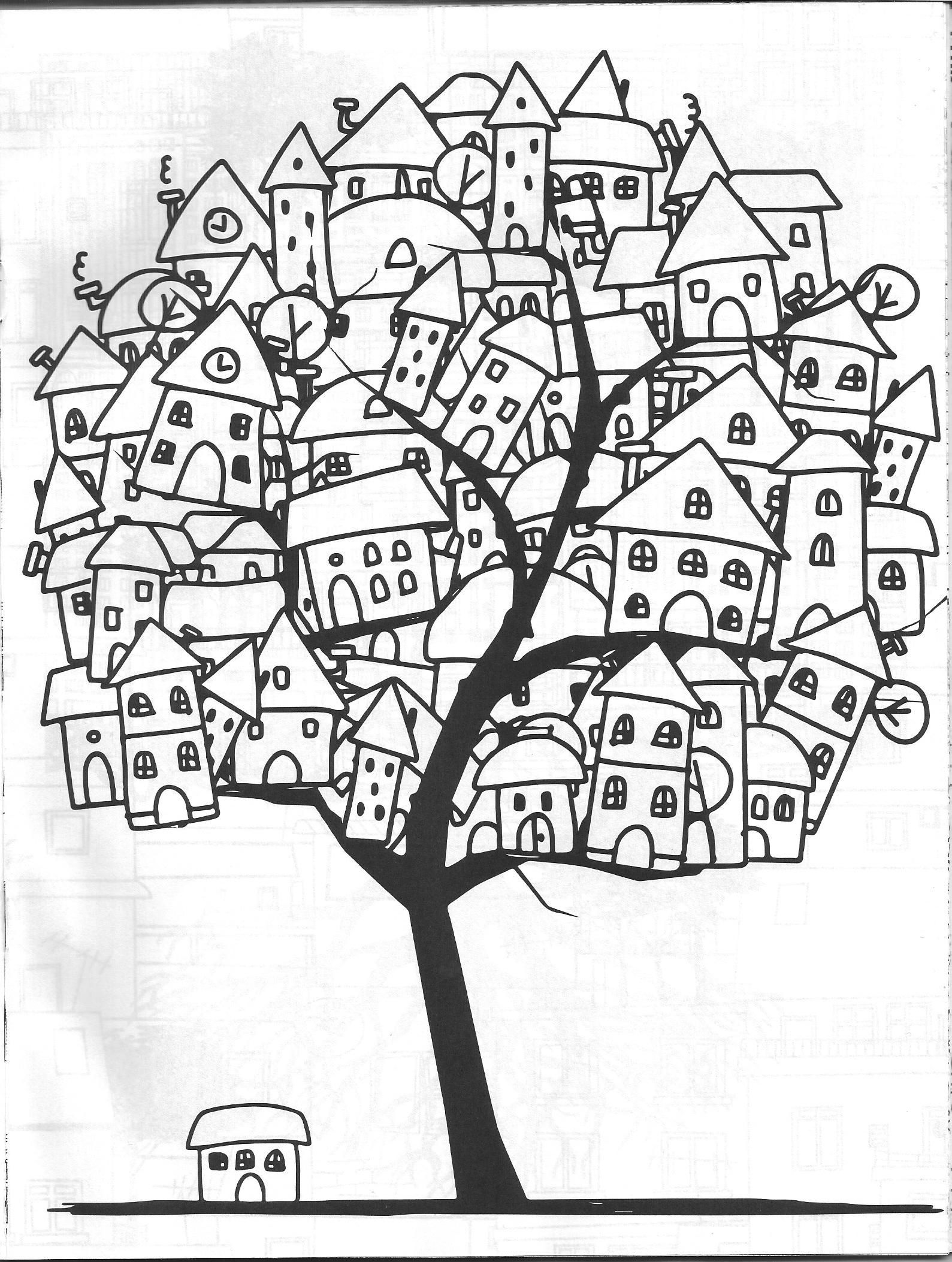 Vida Simples Cidade dos Sonhos   Colouring   Pinterest   Colorear ...