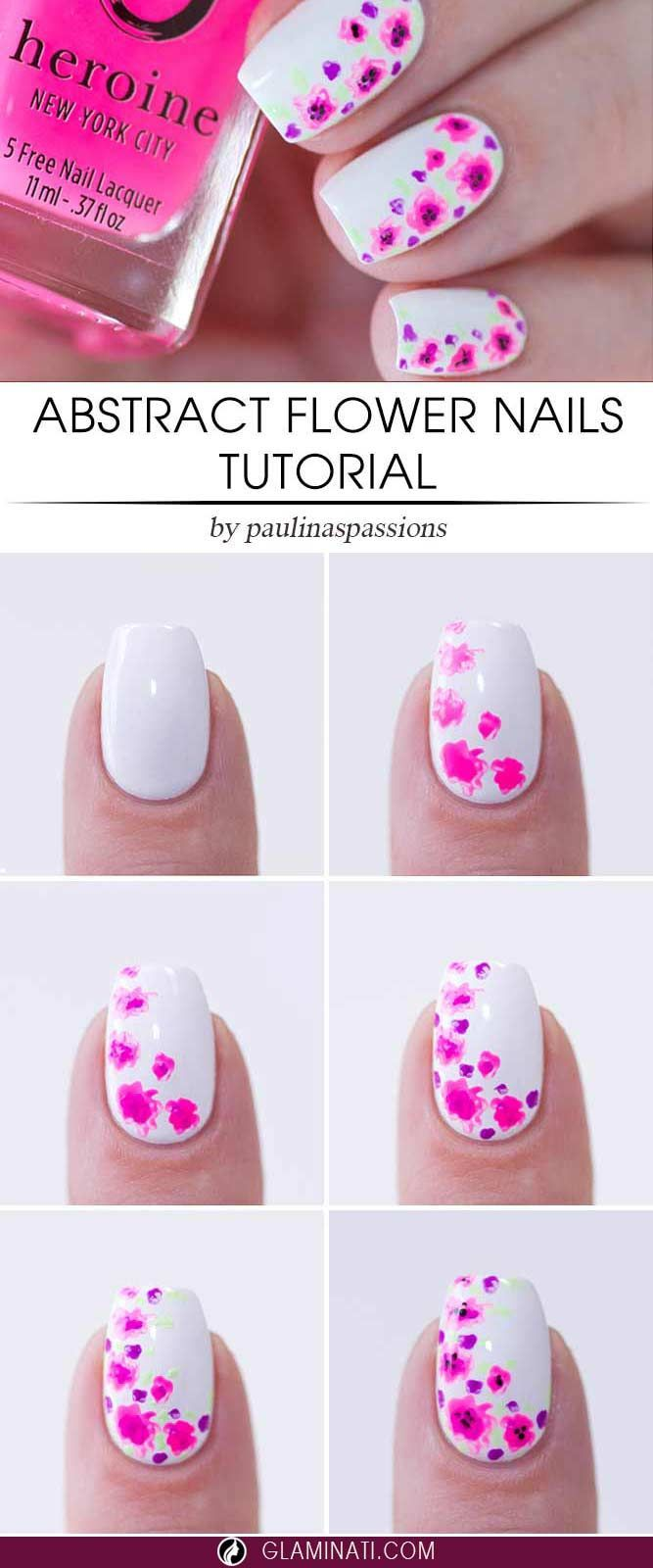 Three-Step Easy Nail Designs You Will Absolutely Love ☆ See more ...