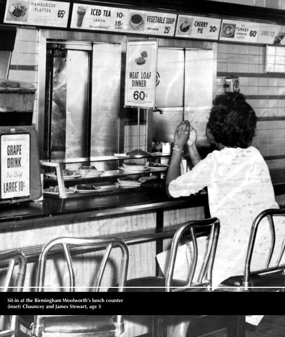 Sit-in at the Birmingham Woolworth's lunch counter | We've