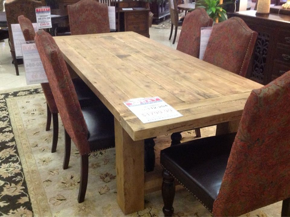 A Beautiful Solid Wood Table! | Houston TX | Gallery Furniture |