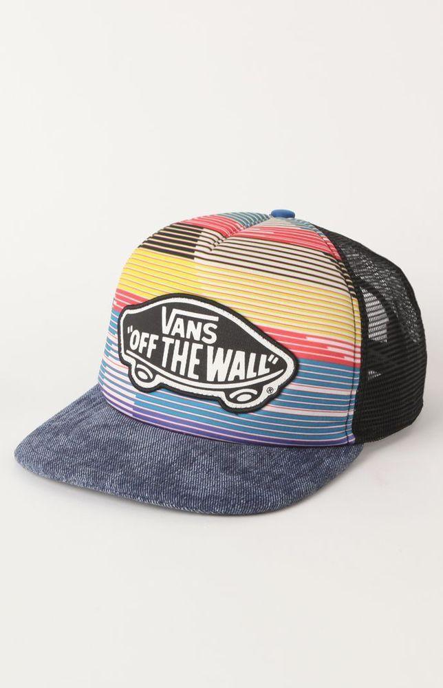 Womens Vans Hat - Vans Midtown Stripe...  20.50  eea374c92c